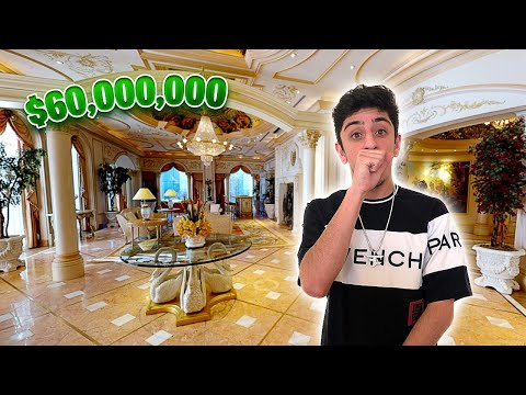 This $60,000,000 Hotel Room Will BLOW YOUR MIND!! (Full Tour)