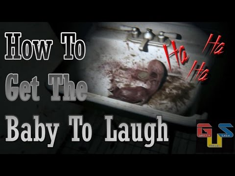 how to make a baby laugh