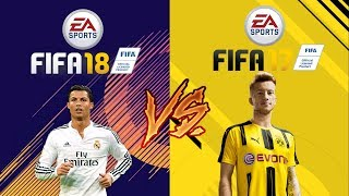 FIFA 18 VS FIFA 17