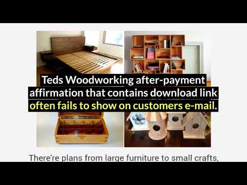 Teds Woodworking Plans Free Download