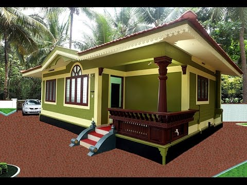 low cost houses in kerala designedbuilding designers - youtube