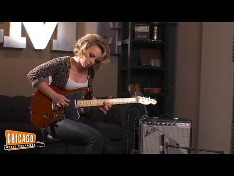 Samantha Fish plays a CME Exclusive Fender Offset Telecaster   CME Gear Demo