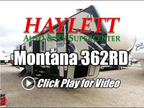 2018 Montana 362RD High Country Rear Den Outside Kitchen Bath Entry Keystone Fifth Wheel RV