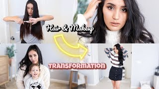 GLOW UP WITH ME // BEFORE AND AFTER TRANSFORMATION