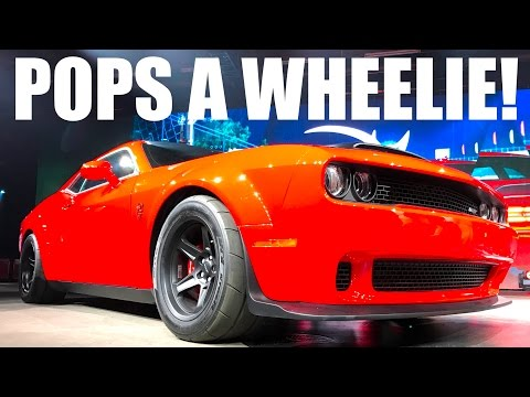 Thumbnail: Here's Why The DODGE DEMON Is The FASTEST PRODUCTION CAR!!!