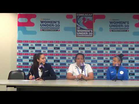 Nicaragua Under 20 Women's team - CONCACAF Pre-Match Press Conference