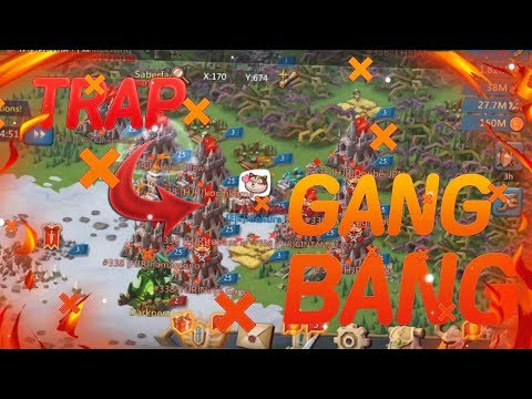 My Trap Got GANG BANGED?!? Will I BURN??/ Lords Mobile KvK November