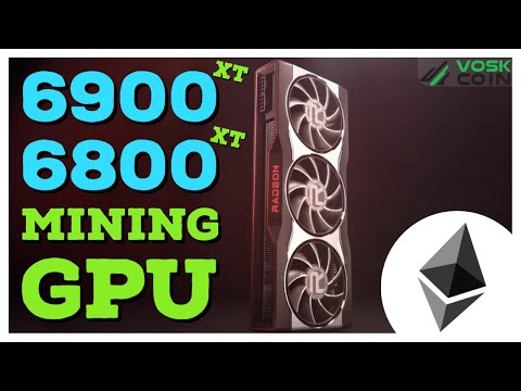 AMD RX 6000 GPUs Will Be GREAT At GPU MINING! RX 6900 XT, 6800 XT, And 6800