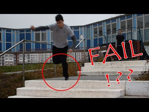FAIL - Parkour | Freerun - Flying Emotions