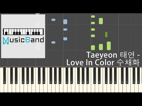 Free Download Taeyeon (태연) - Love In Color 수채화 [my Voice - The 1st Album] - Piano Tutorial 피아노 [hq] Synthesia Mp3 dan Mp4