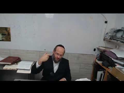 הרב ראובן נקר שליט  א   שיעור 1