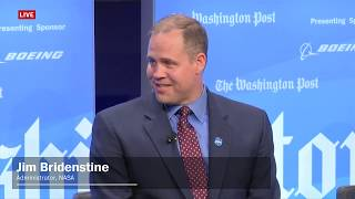Administrator Bridenstine Joins Washington Post Discussion: The New Space Age