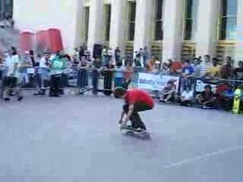 TROC'OUT 2008 Contest skateboard Troca Paris Joseph biais 1