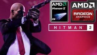 Hitman 2 (2018) (HD 7850/R7 265/R7 370 | Phenom II X4) [Low-Medium]