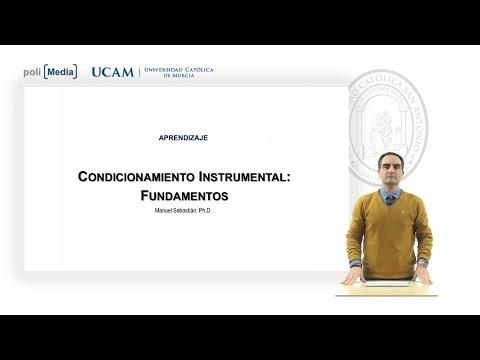 Aprendizaje - Condicionamiento Instrumental: Fundamentos - Manuel Sebastián Carrasco
