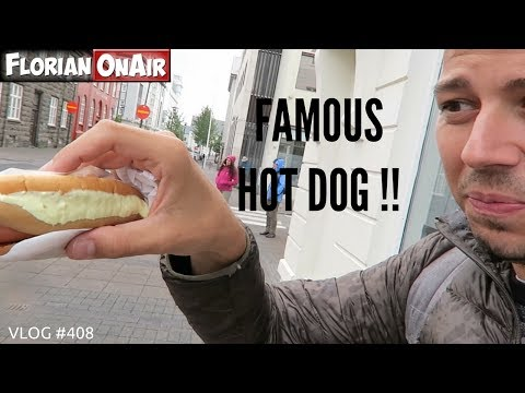 Le HOT DOG qui cartonne à REYKJAVIK en ISLANDE - VLOG #408