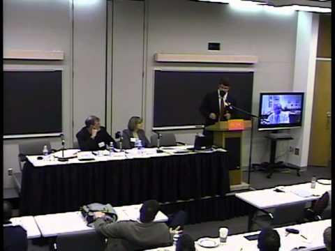 Judicial Ethics and Accountability (2010), Panel 5: Regulating Ethics ...