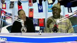 Peoples football show with Charles Bailey and Chaker on personaltouchradio com