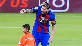 Cuando los niños conocen a sus Ídolos | Momentos Hermosos del Futbol thumbnail