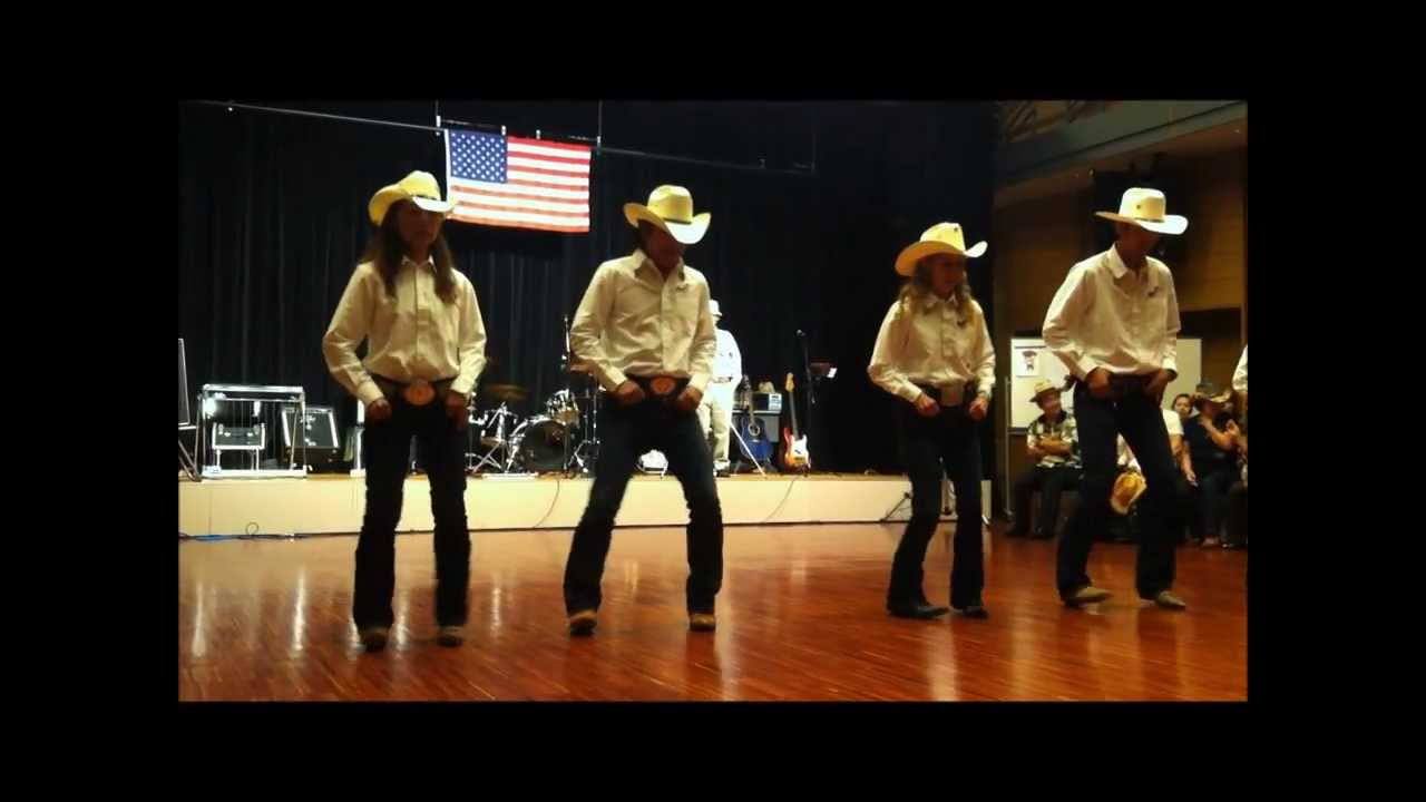 "Country Line Dance ""Harley"" - HEART OF TEXAS- - YouTube