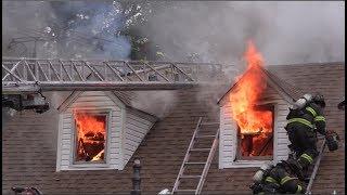 Rockview Drive House Fire | 7/14/17 | Bristol Township, PA.