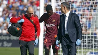 Ousmane Dembele injured for four months
