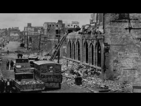 Canterbury during the Blitz