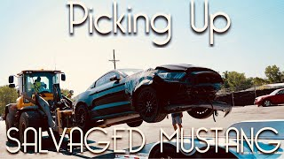 Buying a SALVAGED 2016 Mustang GT Repair / Rebuild Series EP:1