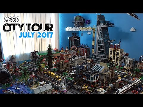LEGO City Tour: July 2017 Update