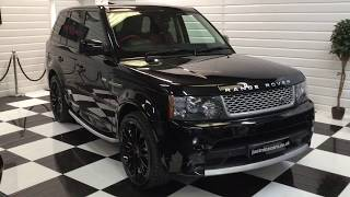 2010 Range Rover Sport Autobiography Limited Edition Videos