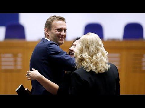 Alexeï Navalny fait condamner la Russie