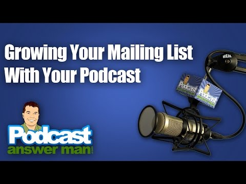 365 - Growing Your Mailing List -- Thoughts On Live Streaming & Video In General -- And Much More!
