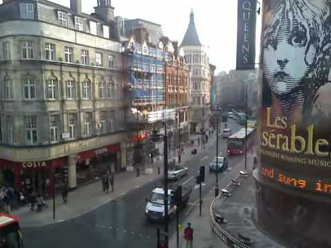 Shaftesbury Avenue in London