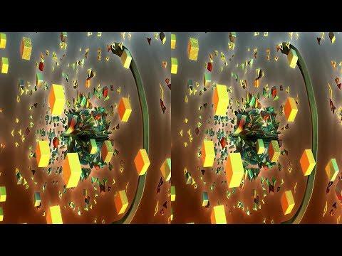 World Of Cubix (3D, stereoscopic, SBS, HD, fractal)