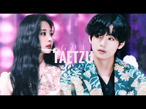 MOMENTS TOUS TAETZU AT 2020 GDA | Taehyung \u0026 Tzuyu - Vous [DEUX FOIS x BTS]
