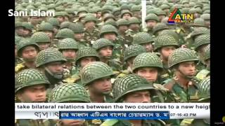 bangladesh army 66 infantry division winter exercise 2016