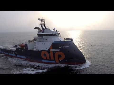 ALP presents ALP STRIKER Ultra Long Distance Anchor Handling Tug UHD 4K