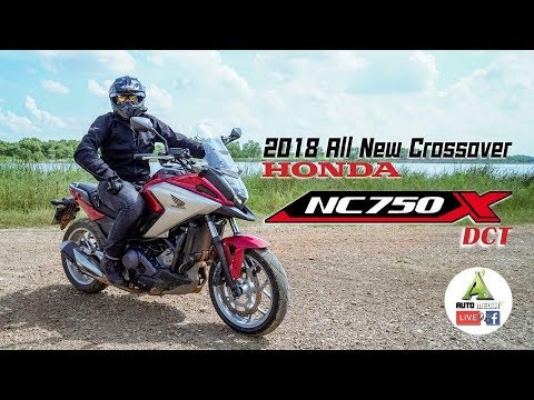 Honda NC 750X DCT 2018 มาแล้ว ลึก สด ใหม่