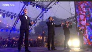 Il Divo; Live At Edinburgh Castle - Interview & Performance (Amazing Grace) 19/7/2014