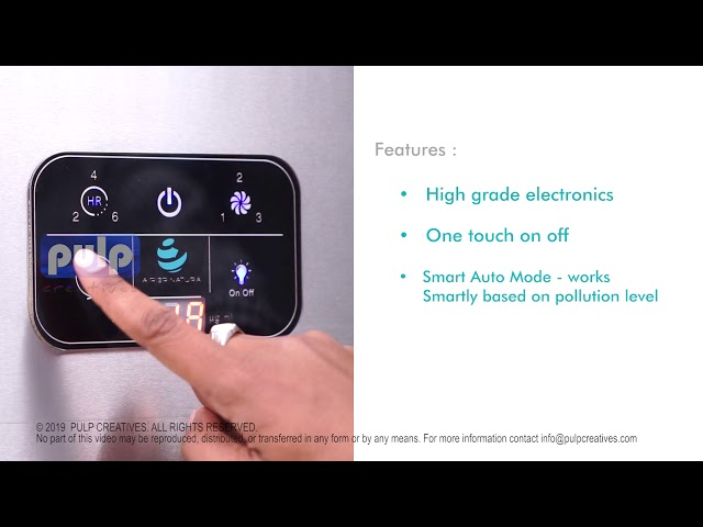 Air Purifier Product Video