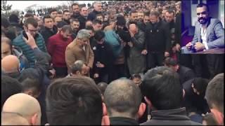 Cuma Uluçay cenaze töreni... (Kepez Mahallesi)
