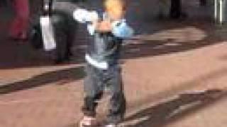 Crank That Soulja Boy - KID CAN DANCE!