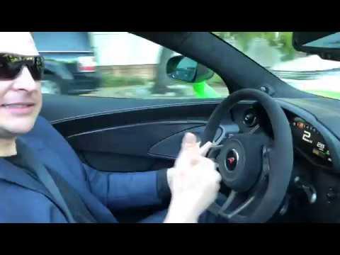 Hooning around Silicon Valley in a McLaren 570s Spider