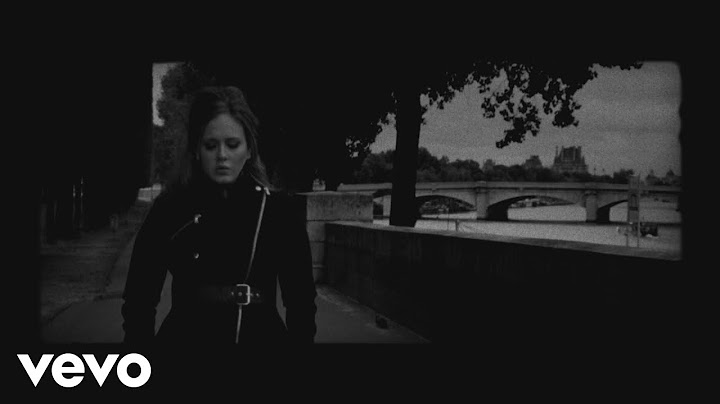 adele  someone like you official music video