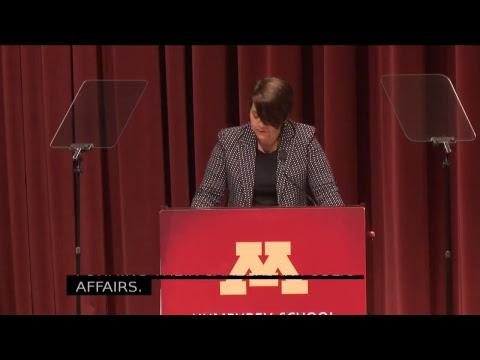 2017 Humphrey School of Public Affairs Commencement Ceremony