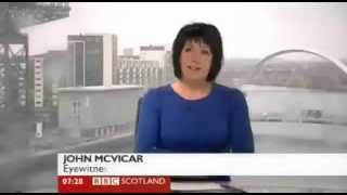 BBC Scotland call random woman 'Rudolf Hess' & mistake Hitler for the weather! blooper