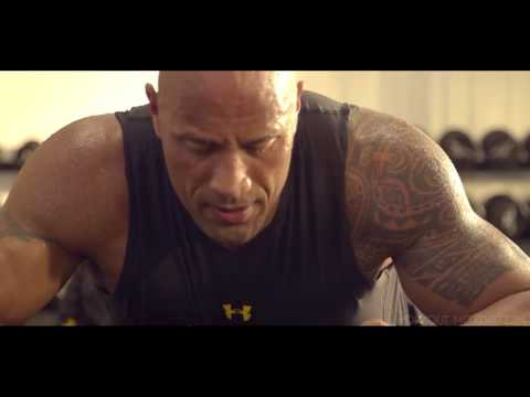 Dwayne The Rock Johnson vs John Cena   Workout Motivation