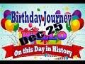 Birthday Journey December 25 New