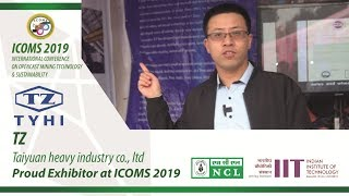 ICOMS 2019 | Exhibitor | TZ | TYHI