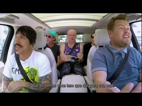 Carpool Karaoke Red Hot Chili Peppers - Legendado PT 1